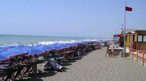 Bibbona, la spiaggia